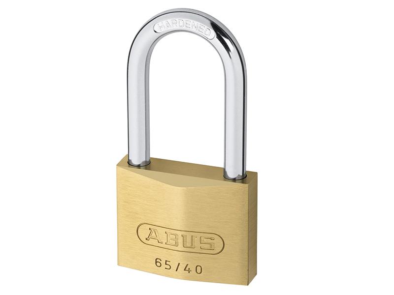 Thumbnail image of ABUS 65/45mm Brass Padlock Keyed Alike 454