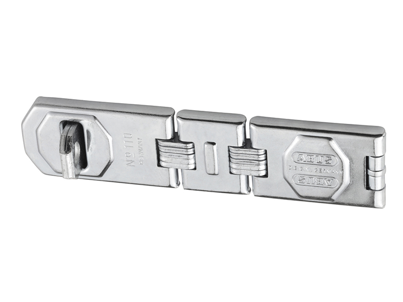 Thumbnail image of ABUS 110/195 Hinged Hasp & Staple Carded 195mm