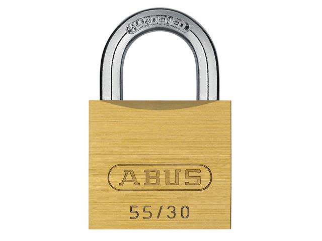 Thumbnail image of ABUS 55/30mm Brass Padlock Carded