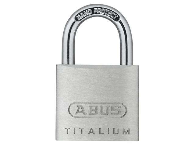 Thumbnail image of ABUS 64TI/30mm TITALIUM™ Padlock Carded Twin Pack