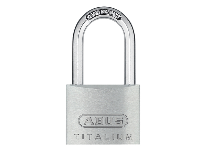 Thumbnail image of ABUS 64TI/40mm TITALIUM™ Padlock 40mm Long Shackle Carded