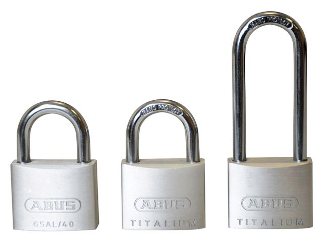 Thumbnail image of ABUS 64TI/40mm TITALIUM™ Padlock 63mm Long Shackle