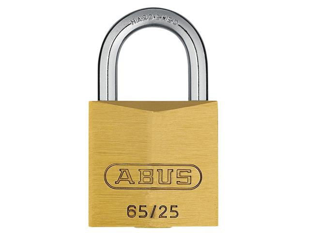 Thumbnail image of ABUS 65/25mm Brass Padlock Keyed Alike 253