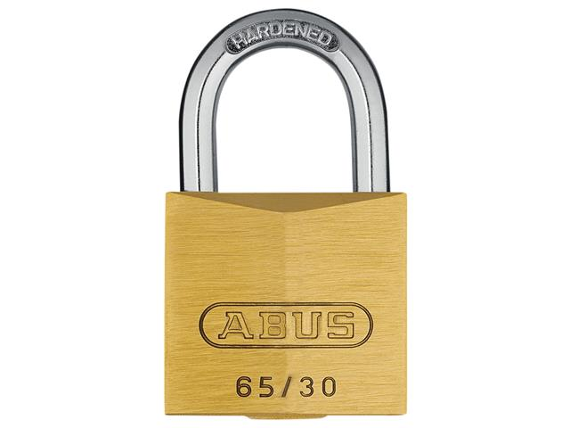 Thumbnail image of ABUS 65/30mm Brass Padlock Keyed Alike 301