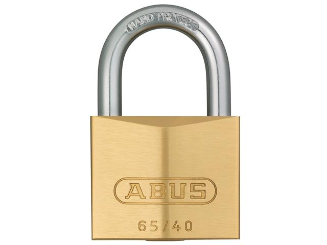 Thumbnail image of ABUS 65/40mm Brass Padlock Keyed Alike 406