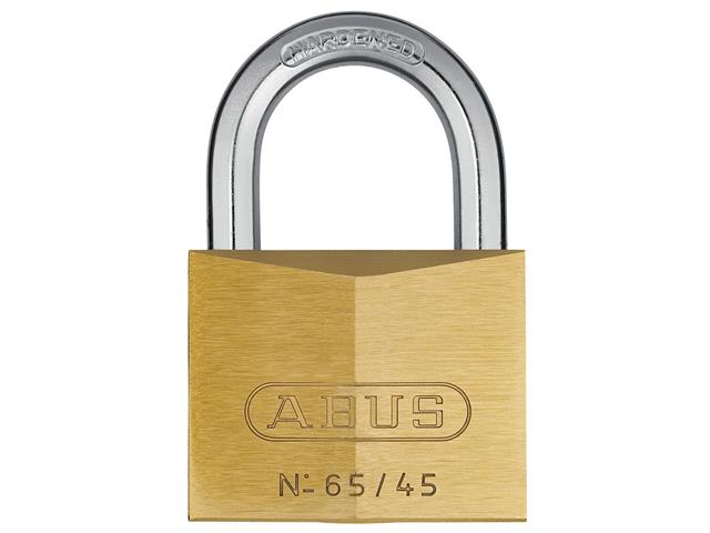 Thumbnail image of ABUS 65/45mm Brass Padlock Keyed Alike 451