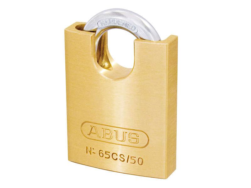 Thumbnail image of ABUS 65/50mm Brass Padlock Keyed Alike 503