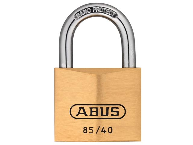 Thumbnail image of ABUS 85/40mm Brass Padlock Keyed Alike 709