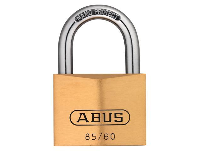 Thumbnail image of ABUS 85/60mm Brass Padlock Keyed Alike 2703