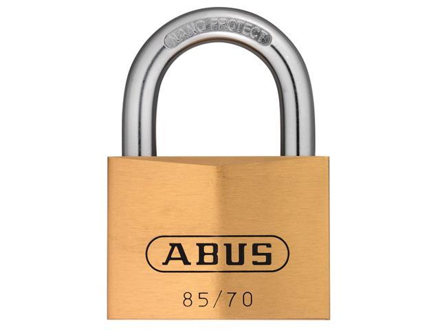 Thumbnail image of ABUS 85/70mm Brass Padlock Keyed Alike 121