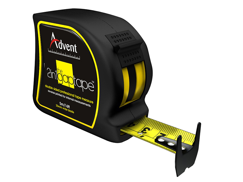 Thumbnail image of Advent 2-In-1 Double Sided Gap Pocket Tape 5m/16ft (Width 25mm)