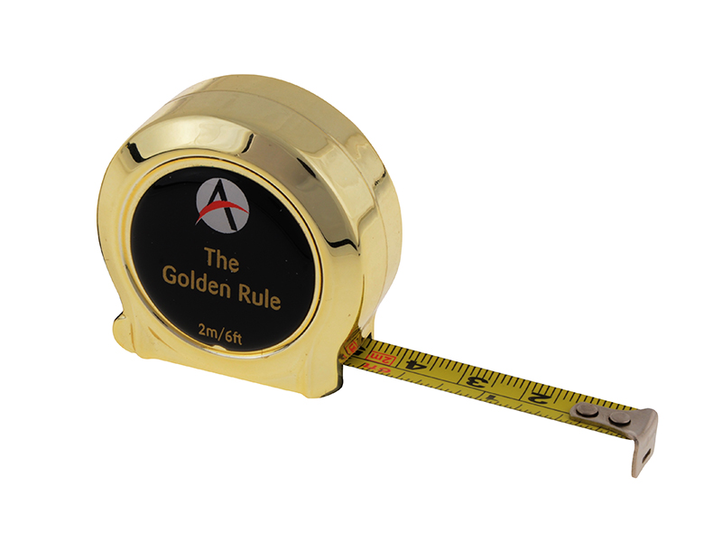 Thumbnail image of Advent Golden Rule Tape 2m/6ft (Width 10mm)