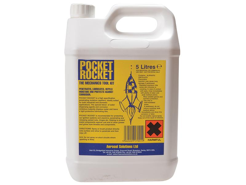 Thumbnail image of Aerosol Pocket Rocket Lubricant Repellent 5 litre