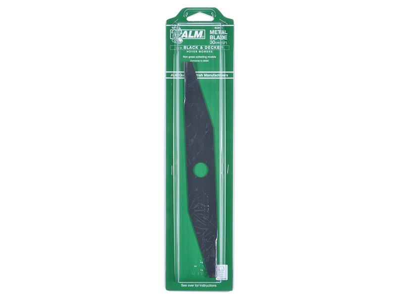 Thumbnail image of ALM BD011 Metal Blade to suit various Black & Decker Mowers 30cm (12in)