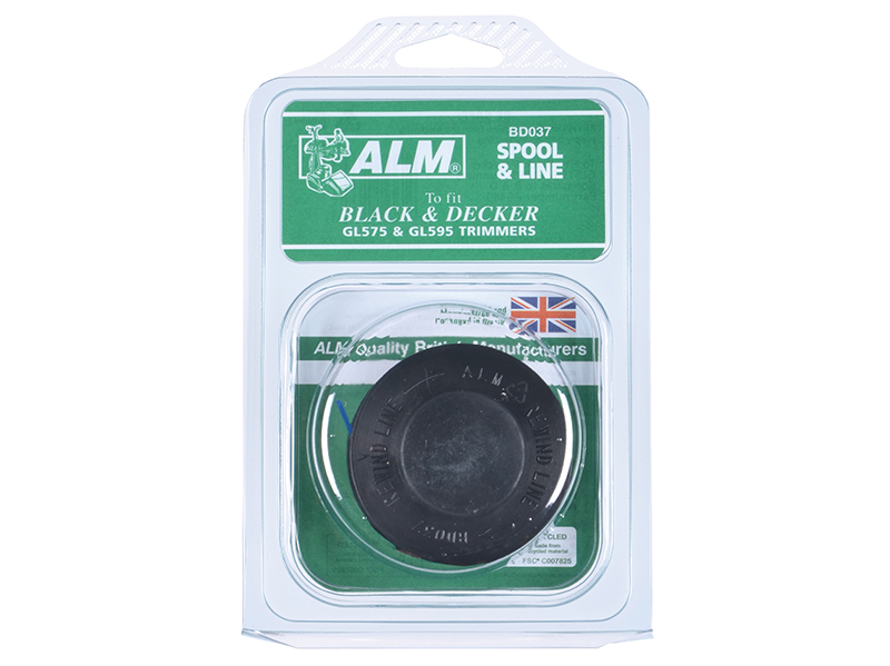 Thumbnail image of ALM BD037 Spool & Line to Fit Black & Decker Trimmers A6480