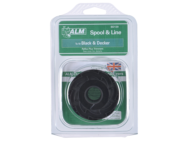 Thumbnail image of ALM BD139 Spool & Line to Fit Black & Decker Trimmers A6441