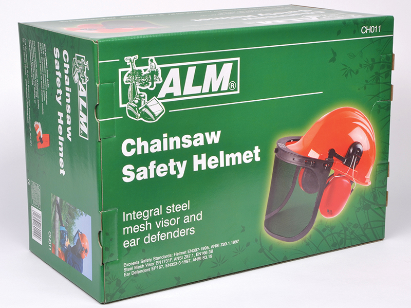 Thumbnail image of ALM CH011 Chainsaw Safety Helmet