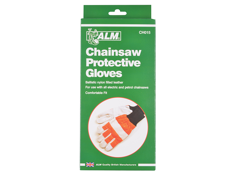 Thumbnail image of ALM CH015 Chainsaw Safety Gloves - Left Hand protection