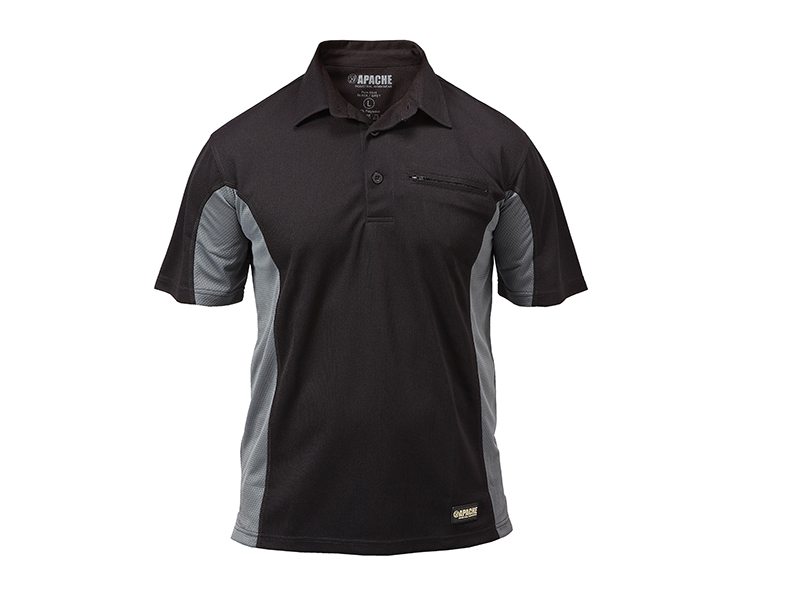 Thumbnail image of Apache Dry Max Polo T-Shirt - XXL (52in)