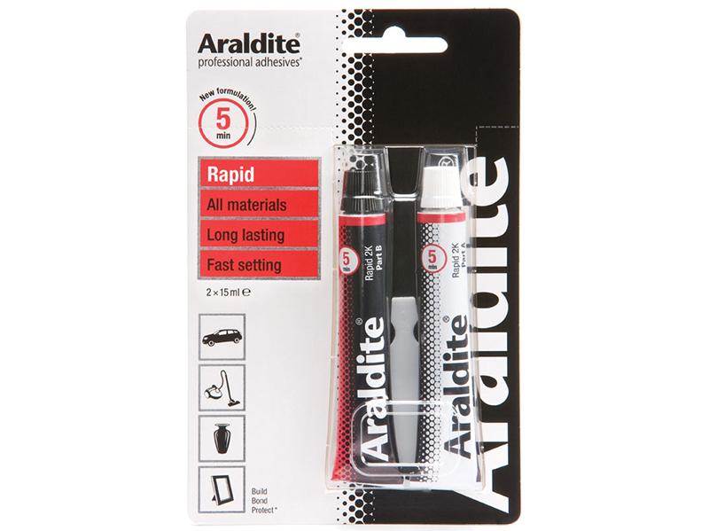 Thumbnail image of Araldite Rapid Epoxy 2 x 15ml Tubes