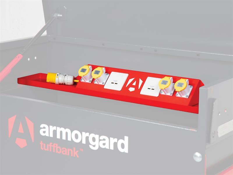 Thumbnail image of Armorgard TBS4P TuffBank™ PowerShelf 4ft