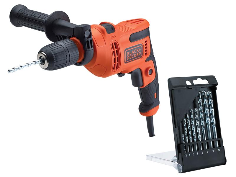 Thumbnail image of Black & Decker BEH200 Heritage Corded Drill 500W 240V