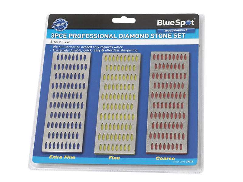 Thumbnail image of BlueSpot Diamond Stone Set of 3 2 x 6in