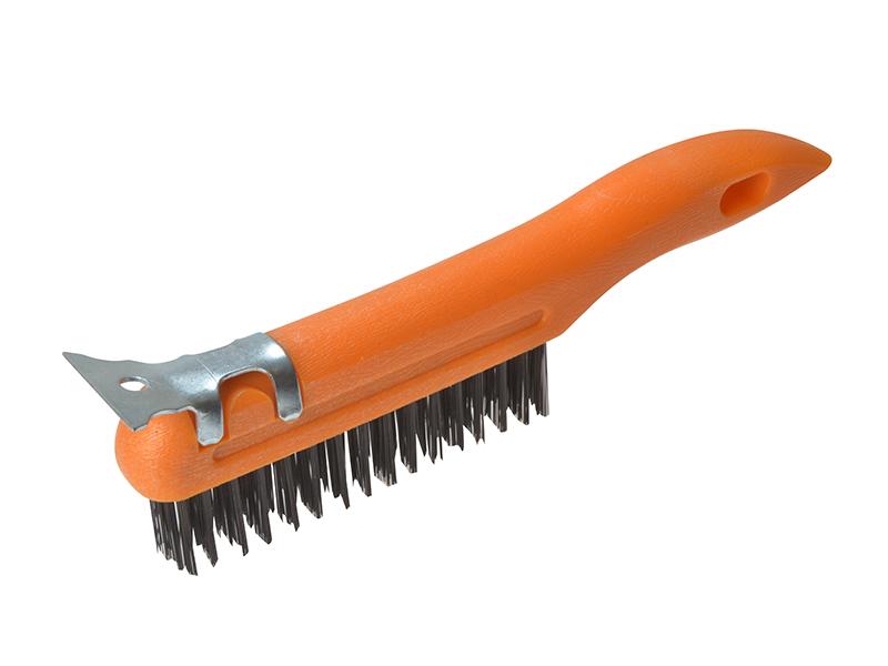 Thumbnail image of BlueSpot Plastic Wire Brush & Scraper