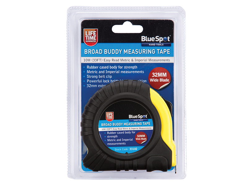 Thumbnail image of BlueSpot Broad Buddy Pocket Tape 10m/33ft (Width 32mm)