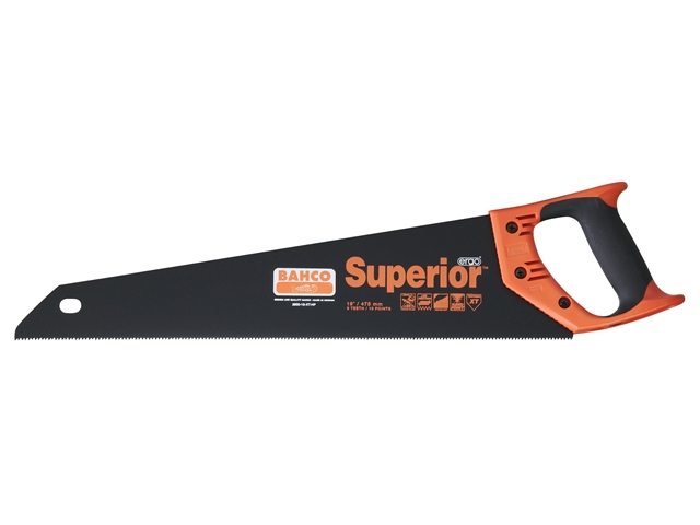 Thumbnail image of Bahco 2600-22-XT-HP Superior Handsaw 550mm (22in) 9 TPI