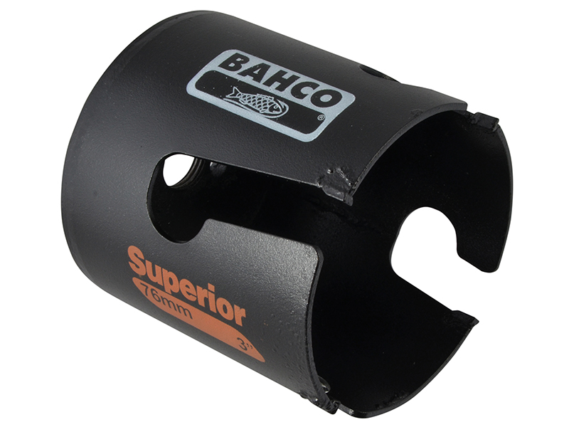 Thumbnail image of Bahco Superior™ Multi Construction Holesaw Carded 76mm