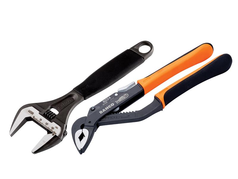Thumbnail image of Bahco 9031 ERGO™ Extra Wide Jaw Adjustable Wrench 218mm