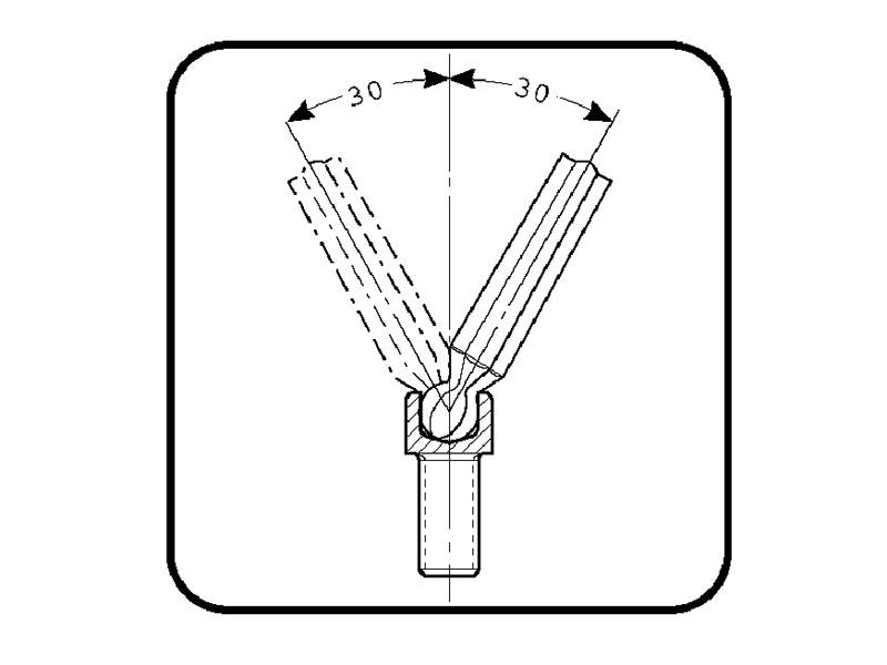 Thumbnail image of Bahco Hexagon Key Set, 9 Piece (1.5-10mm)