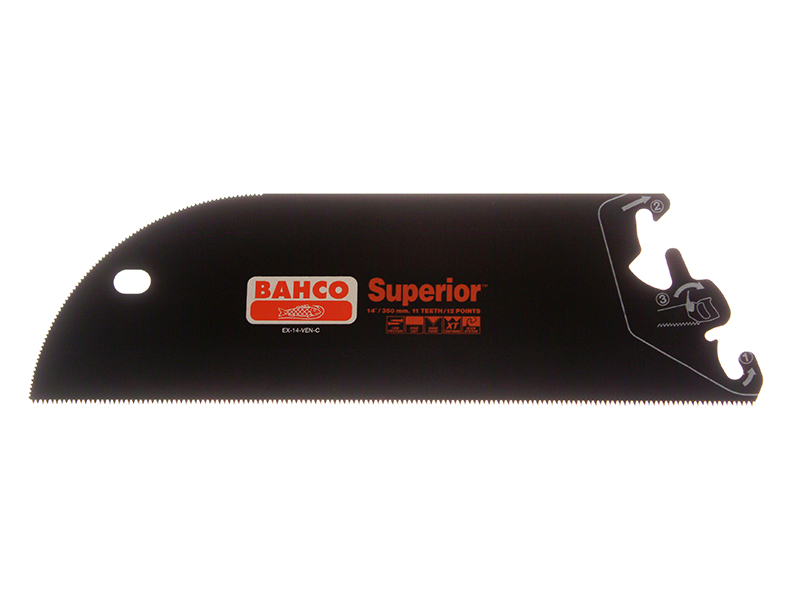 Thumbnail image of Bahco ERGO™ Handsaw System Superior Blade 350mm (14in) Veneer