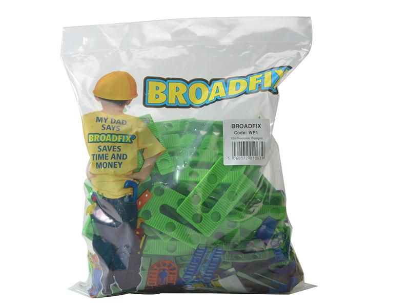 Thumbnail image of Broadfix Green Precision Wedges (Bag 100)