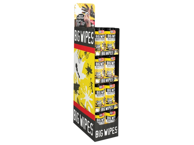 Thumbnail image of Big Wipes 4x4 Multi-Purpose Cleaning Wipes (Tub 80)