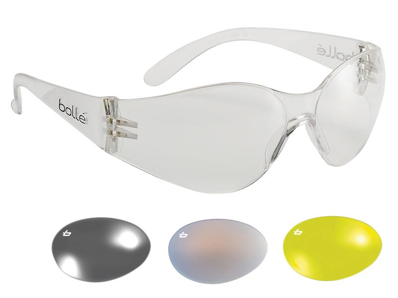 Thumbnail image of Bolle BANDIDO Safety Glasses - Clear
