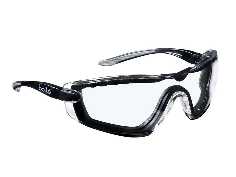 Thumbnail image of Bolle COBRA PSI PLATINUM® Safety Glasses with Foam Arms Clear