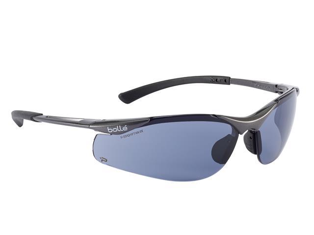 Thumbnail image of Bolle CONTOUR PLATINUM® Safety Glasses - Smoke