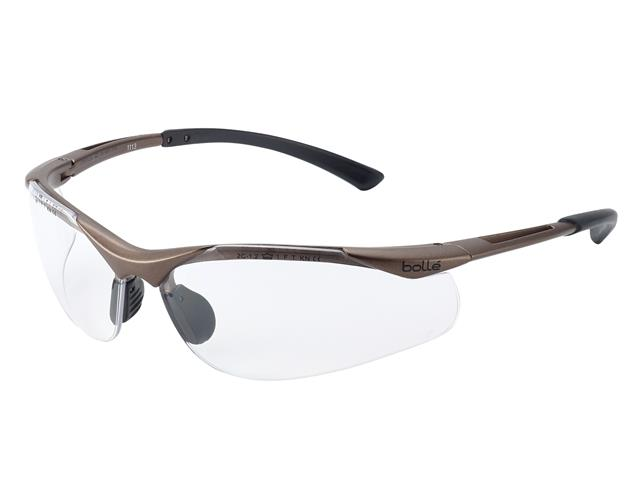 Thumbnail image of Bolle CONTOUR PLATINUM® Safety Glasses - Clear