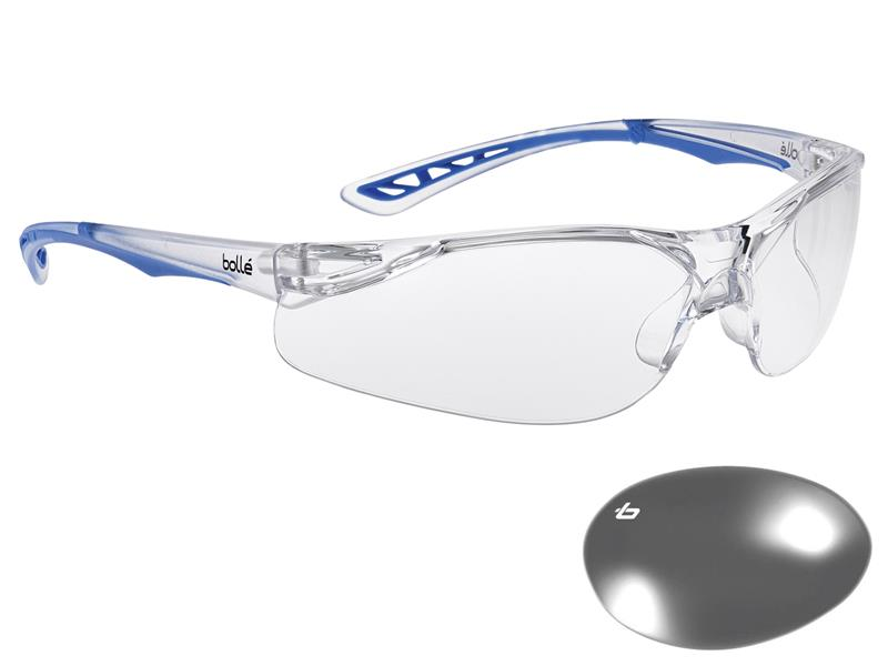 Thumbnail image of Bolle ILUKA Safety Glasses - Clear
