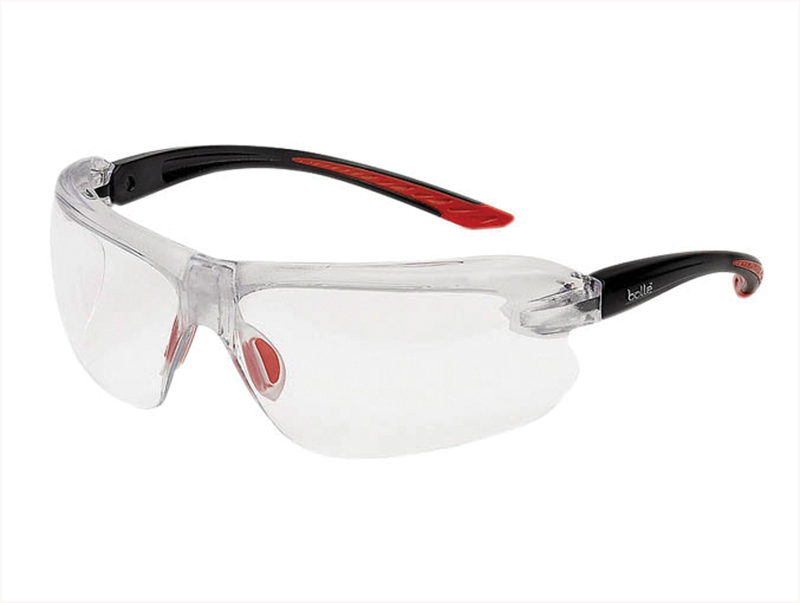 Thumbnail image of Bolle IRI-S Safety Glasses - Clear Bifocal Reading Area +3.0