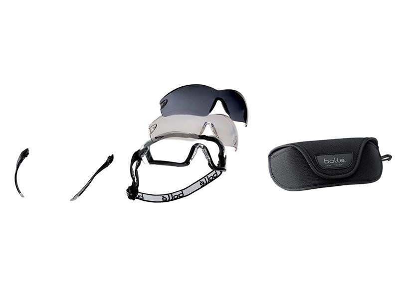 Thumbnail image of Bolle COBRA Safety Glasses & Goggle Kit