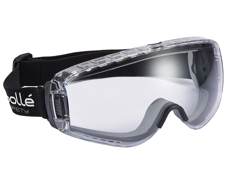 Thumbnail image of Bolle PILOT PLATINUM® Ventilated Safety Goggles - Clear