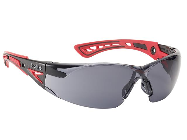 Thumbnail image of Bolle RUSH+ PLATINUM® Safety Glasses - Smoke