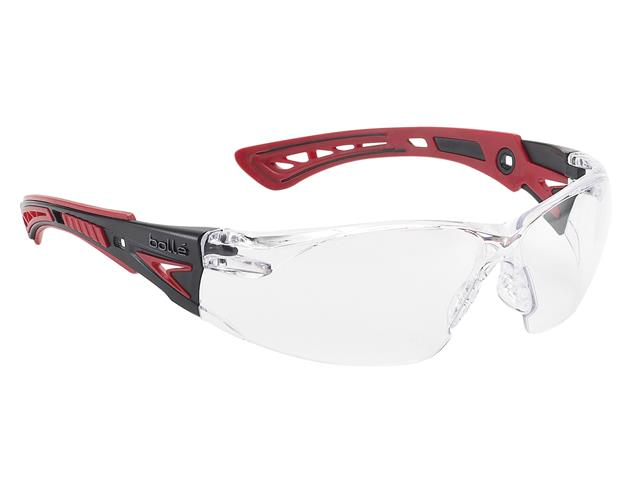 Thumbnail image of Bolle RUSH+ PLATINUM® Safety Glasses - Clear
