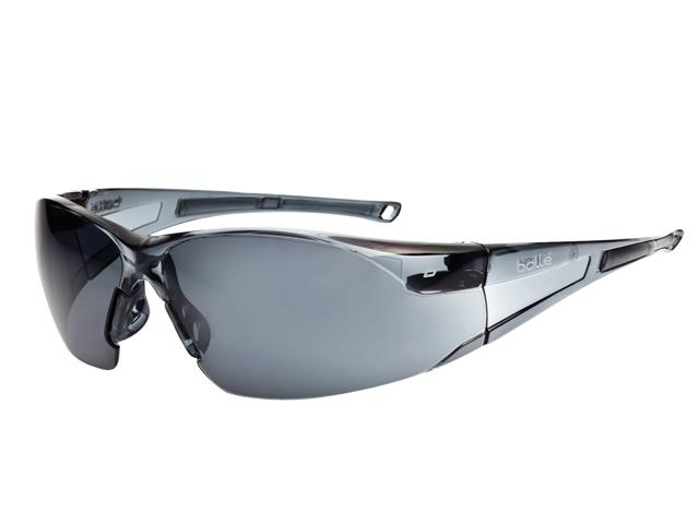 Thumbnail image of Bolle RUSH Safety Glasses - Smoke