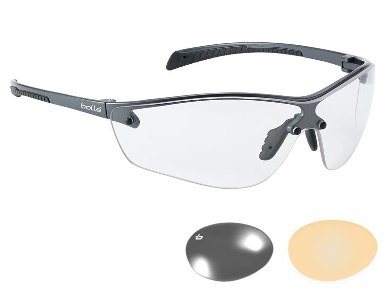 Thumbnail image of Bolle SILIUM+ PLATINUM® Safety Glasses - Clear