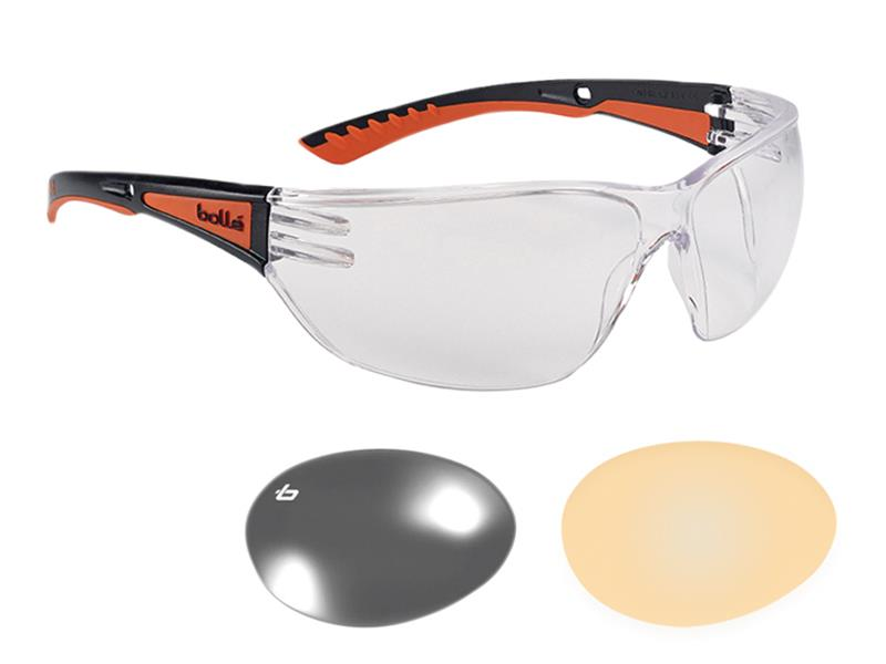 Thumbnail image of Bolle SLAM+ PLATINUM® Safety Glasses - Clear