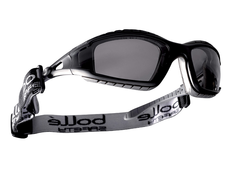 Thumbnail image of Bolle TRACKER PLATINUM® Safety Goggles Vented Smoke